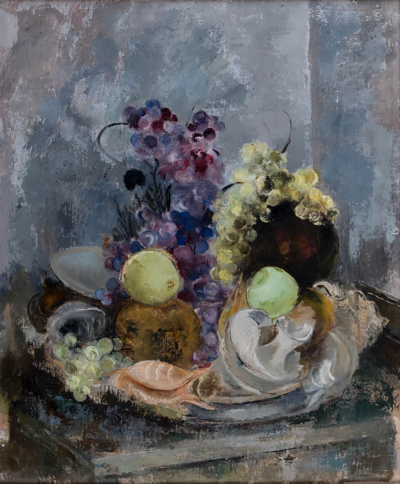 Cecil Higgs Painting Still life with flowers